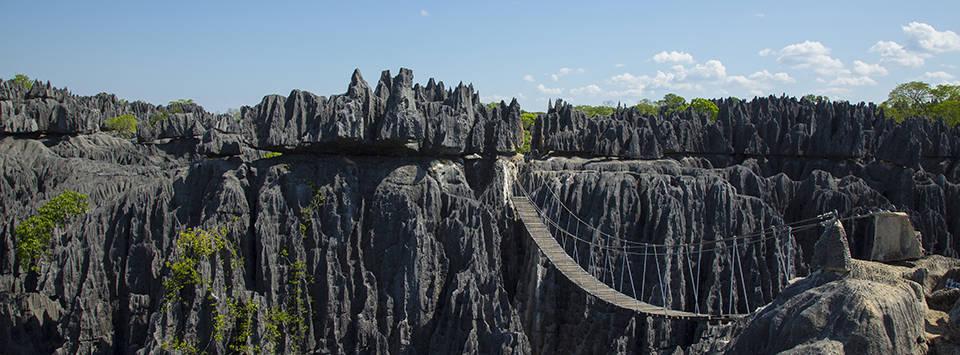 Die malerische Tsingy Welt im Norden