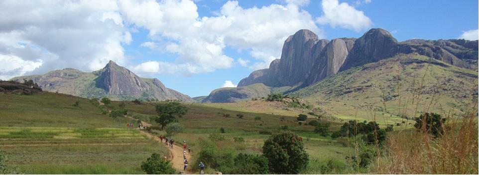 Wanderung im Hochland Madagaskars