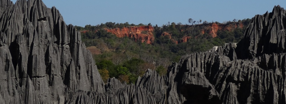 die großen Tsingy de Bemaraha