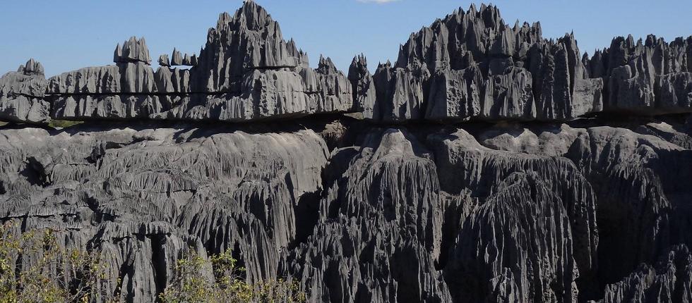 die großen Tsingy de Bemaraha - seit 1990 UNESCO Weltnaturerbe