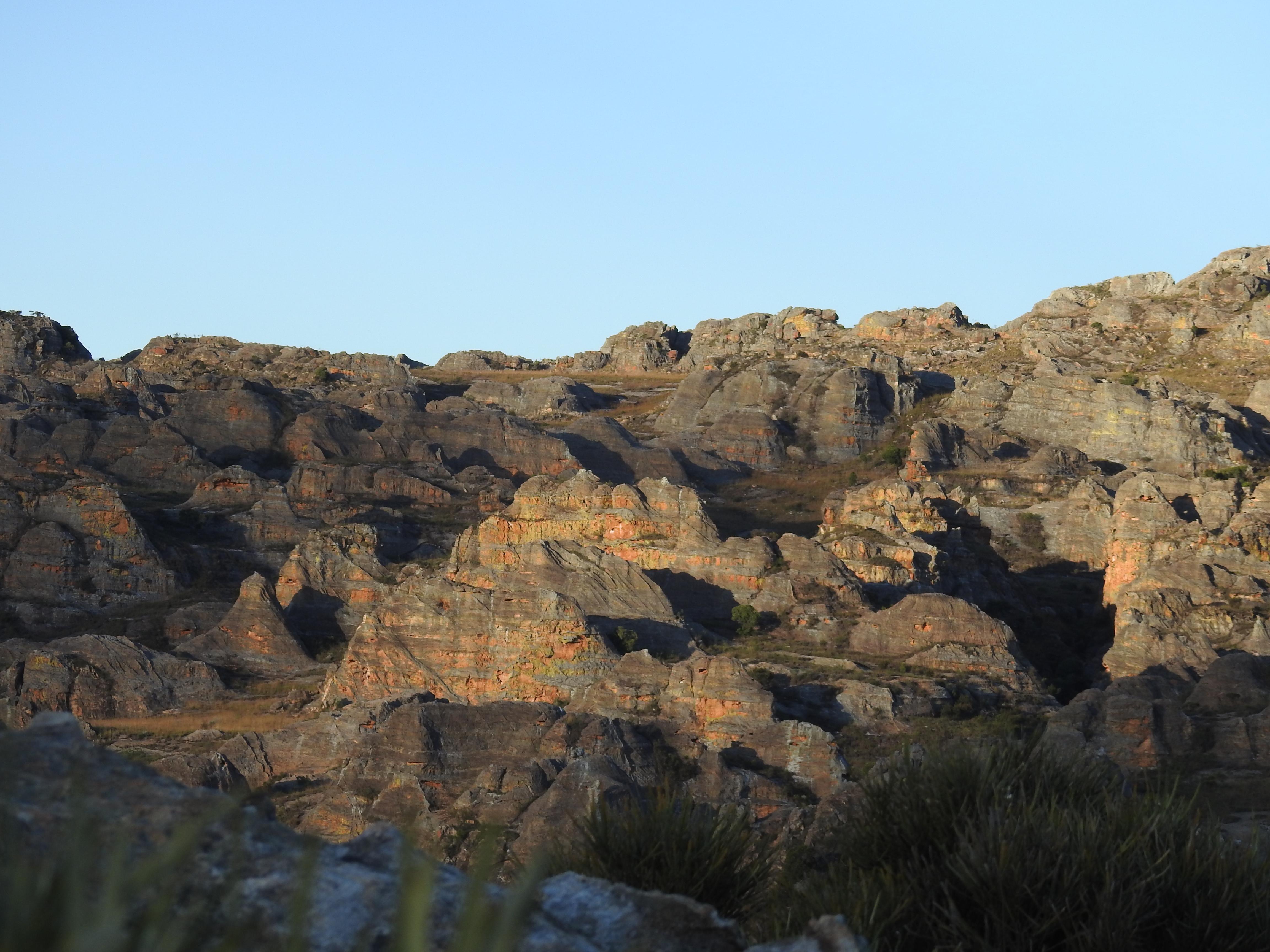das Isalo Massiv im mittleren Süden Madagaskars