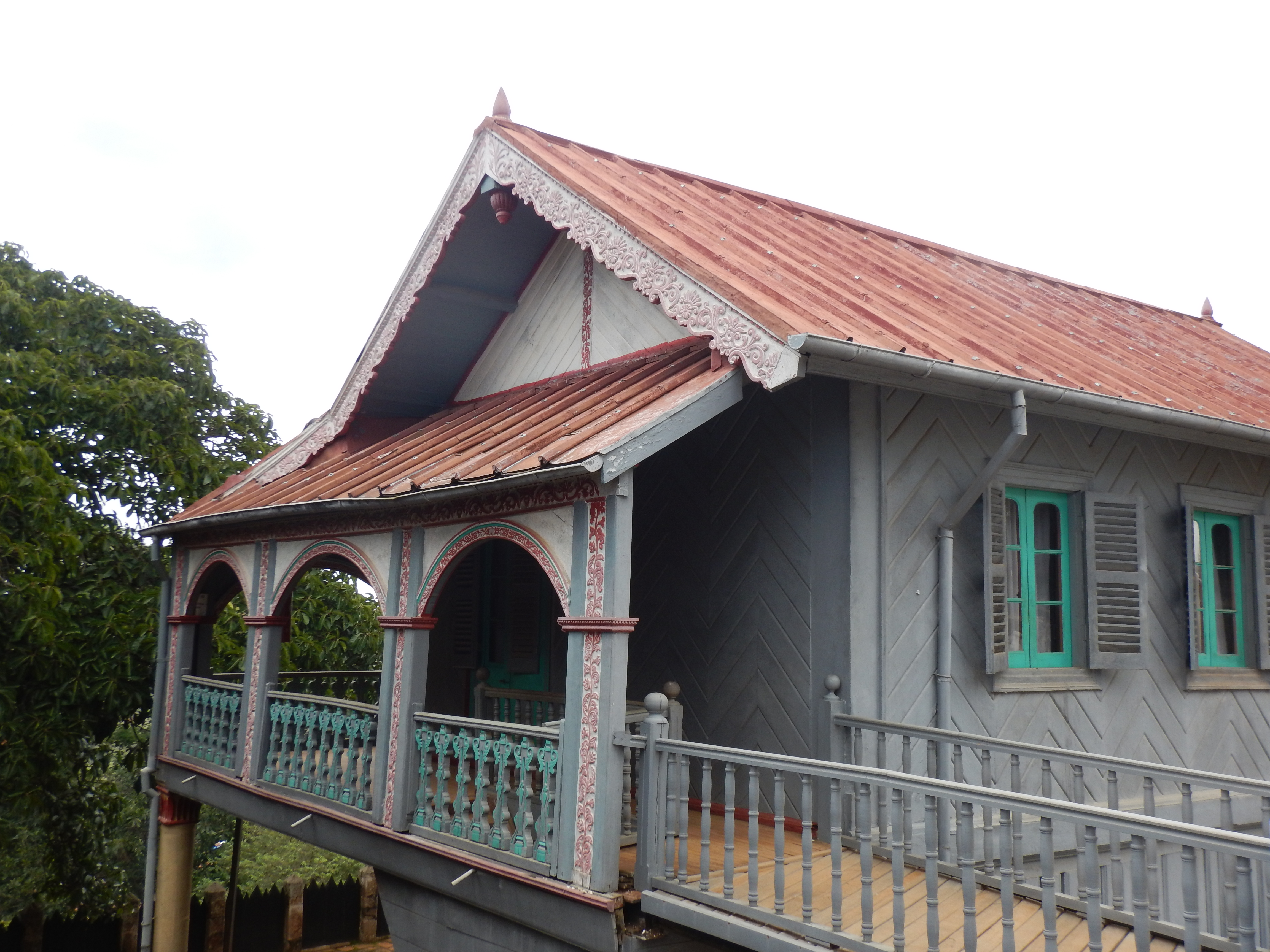 Königlicher Palast auf dem heiligen blauen Hügel Ambohimanga