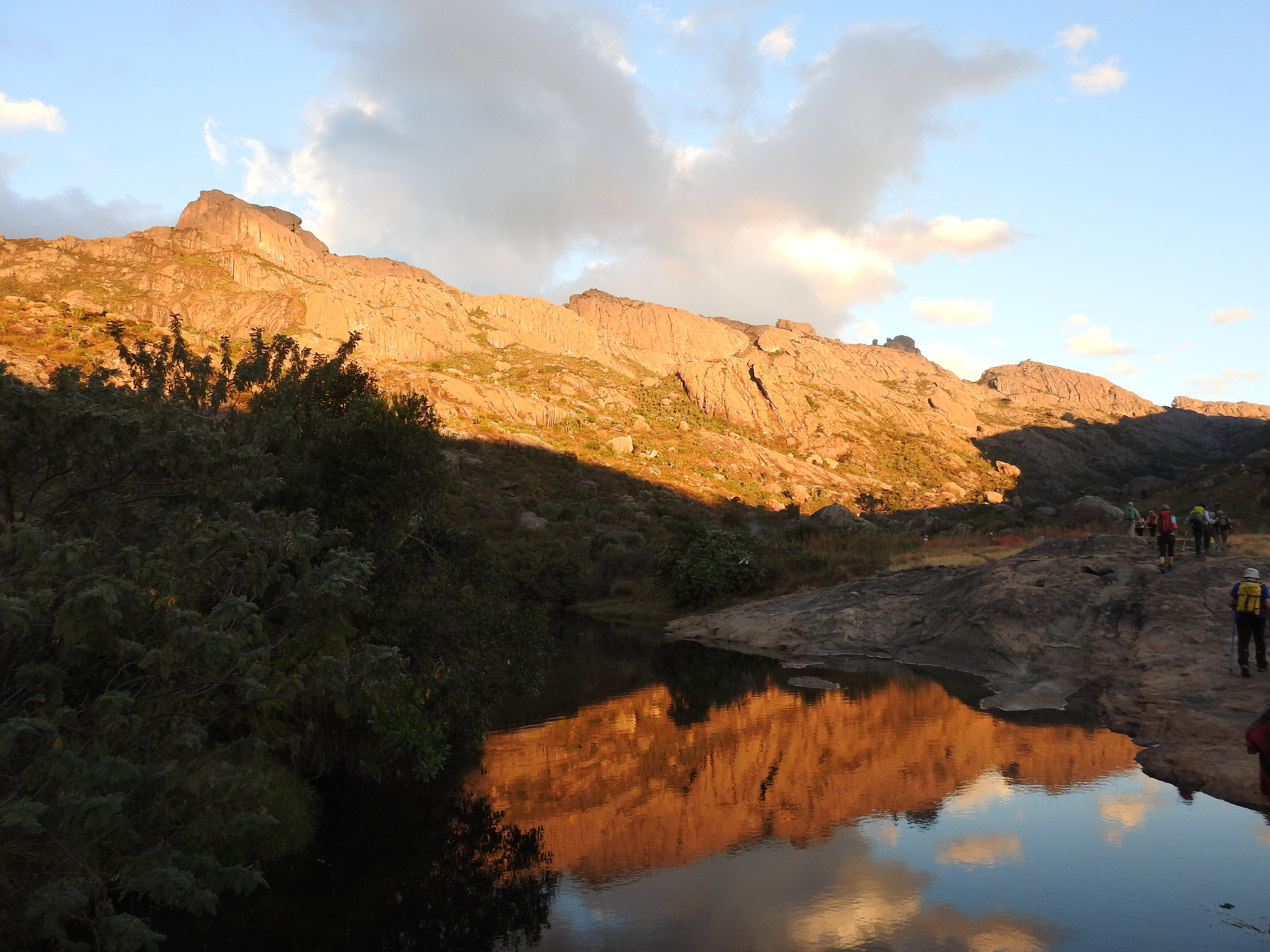 Sonnenuntergang im Andringitra Gebirge