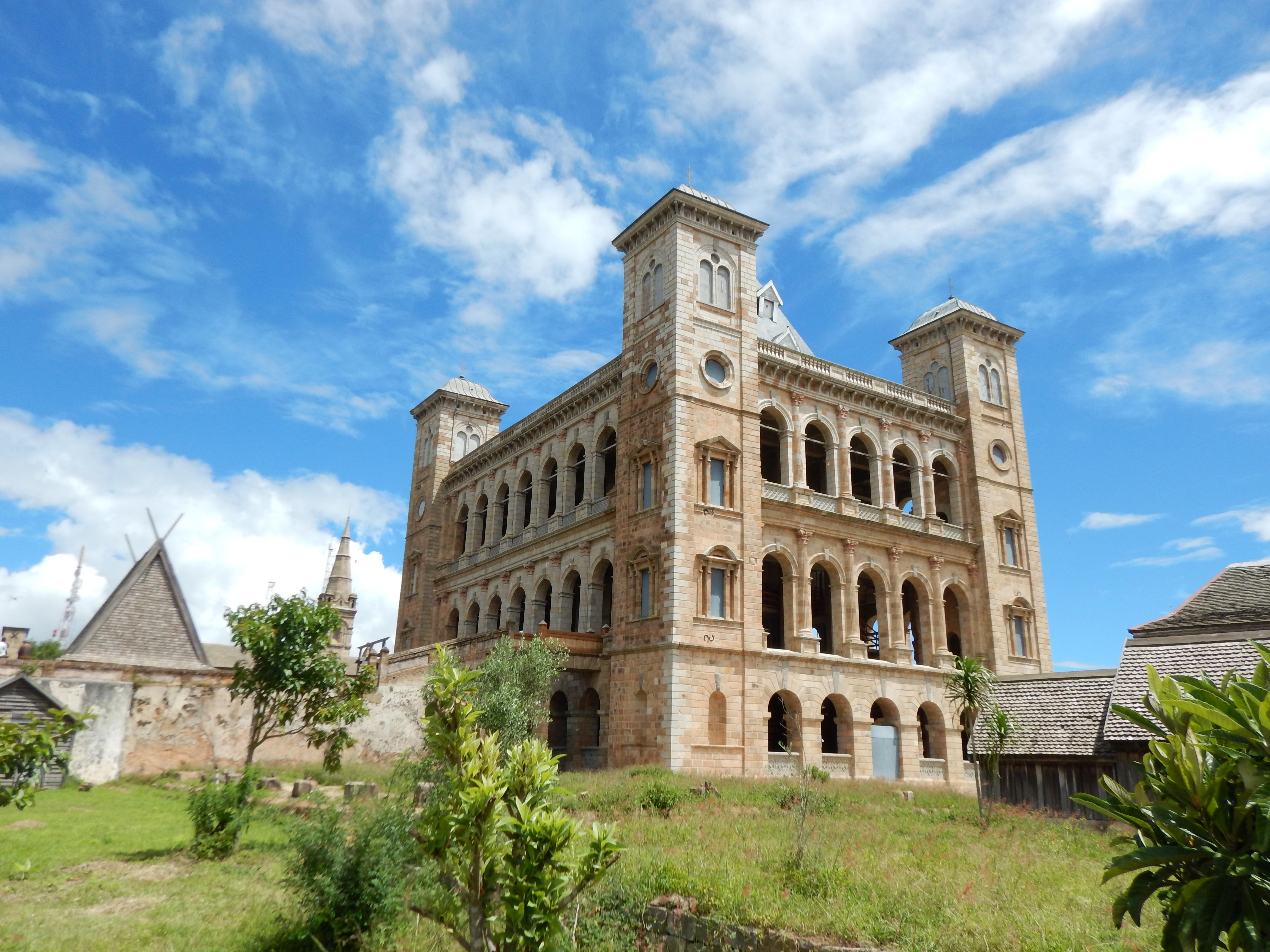 der Rova in Antananarivo - der Palast des Königinnen